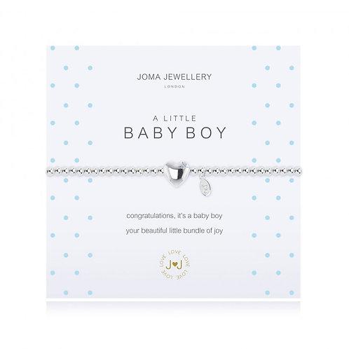 Joma Jewellery- 'a little... Baby Boy' Bracelet