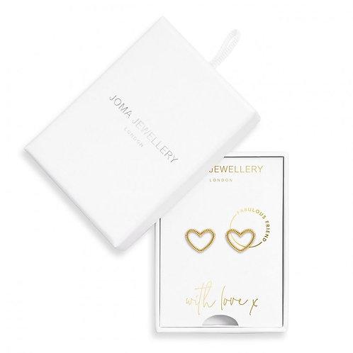 Treasure the Little Things-Fabulous Friend Earring Box-Joma Jewellery