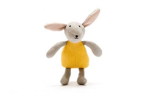 Organic Cotton Bunny- Mustard