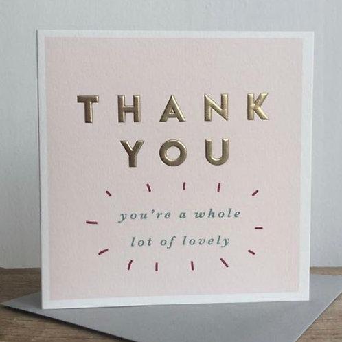 Megan Claire - Thank You