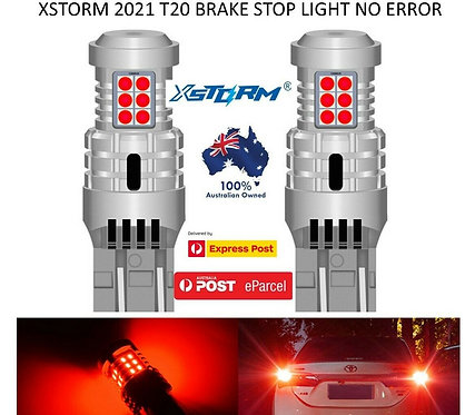 2X 2021 XSTORM T20 7440 7443 CANBUS BRAKE STOP TAIL LIGHT LED BULBS