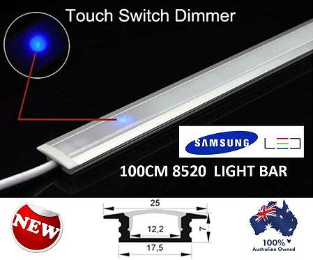 100CM 240V SAMSUNG LED  8520 TOUCH SENSOR DIMMABLE LIGHT BAR KIT WW