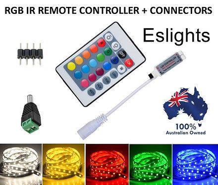 RGB IR WIRELESS STRIP LIGHT REMOTE CONTROLLER