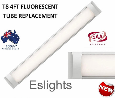 40W 4FT T8 1200MM SLIM LED BATTEN BLADE LIGHT