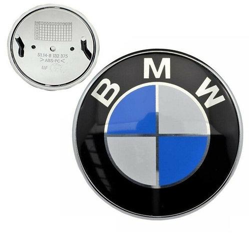 BMW REPLACEMENT 78MM BOOT TRUNK BONNET BADGE EMBLEM E38 E39 E46 E60 E90