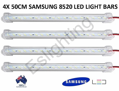 4X 12V 50CM SAMSUNG 8520 LIGHT BAR UTE 4WD CAR