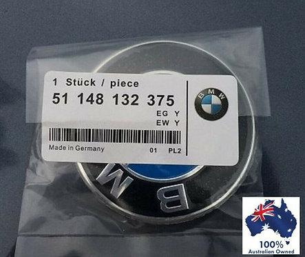BMW REPLACEMENT 74MM BOOT TRUNK BONNET BADGE EMBLEM E38 E39 E46 E60 E90