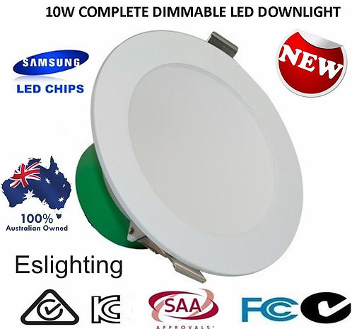 12W - 13w FROSTED DIMMABLE DOWNLIGHT SAMSUNG LEDS