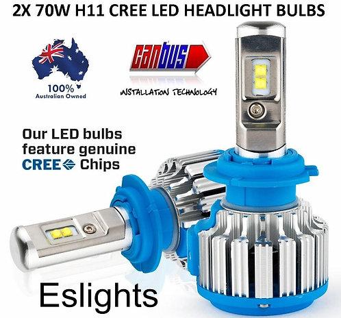 CREE LED H11 H9 H8 CAR HEADLIGHT BULB LAMP