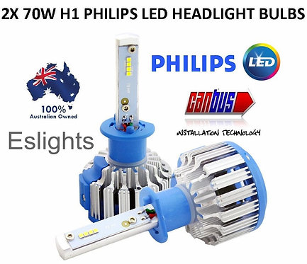 PHILLIPS LED H1 CAR HEADLIGHT BULB LAMP