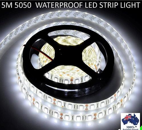 5 METER WATERPROOF 5050 STRIP LIGHT