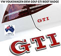 VW VOLKSWAGEN RED GOLF GTI BOOT HATCH BA