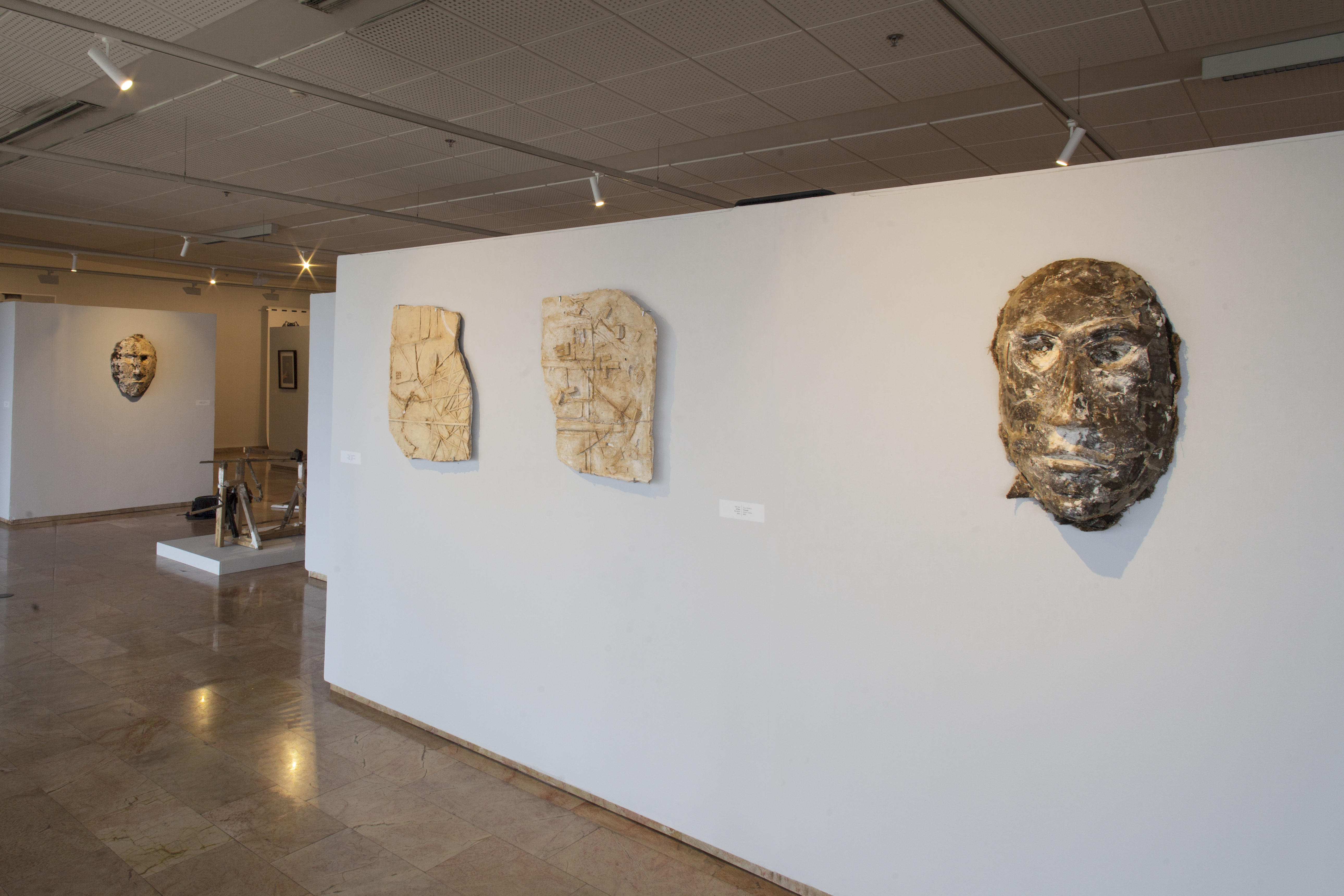 layers of identity, a view of the instal