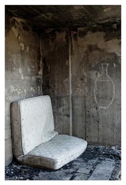 A vase and a mattress,  2014, 86x43x0