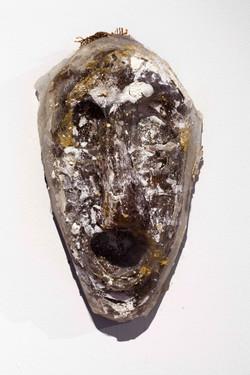 Mask number 13, 2019, 32x19x11 cm, polye