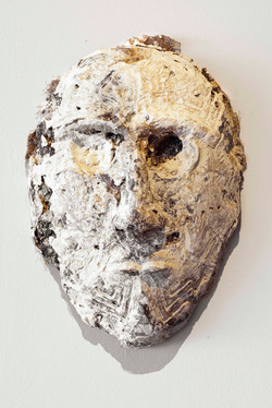 Mask Number 8, 2019, 65x54x25 cm, polyes
