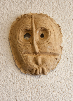 Mask  number 1, 2016, 38x6x45 cm', plast