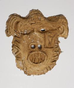 Mask  number 2, 2016, 47x6x47 cm', plast