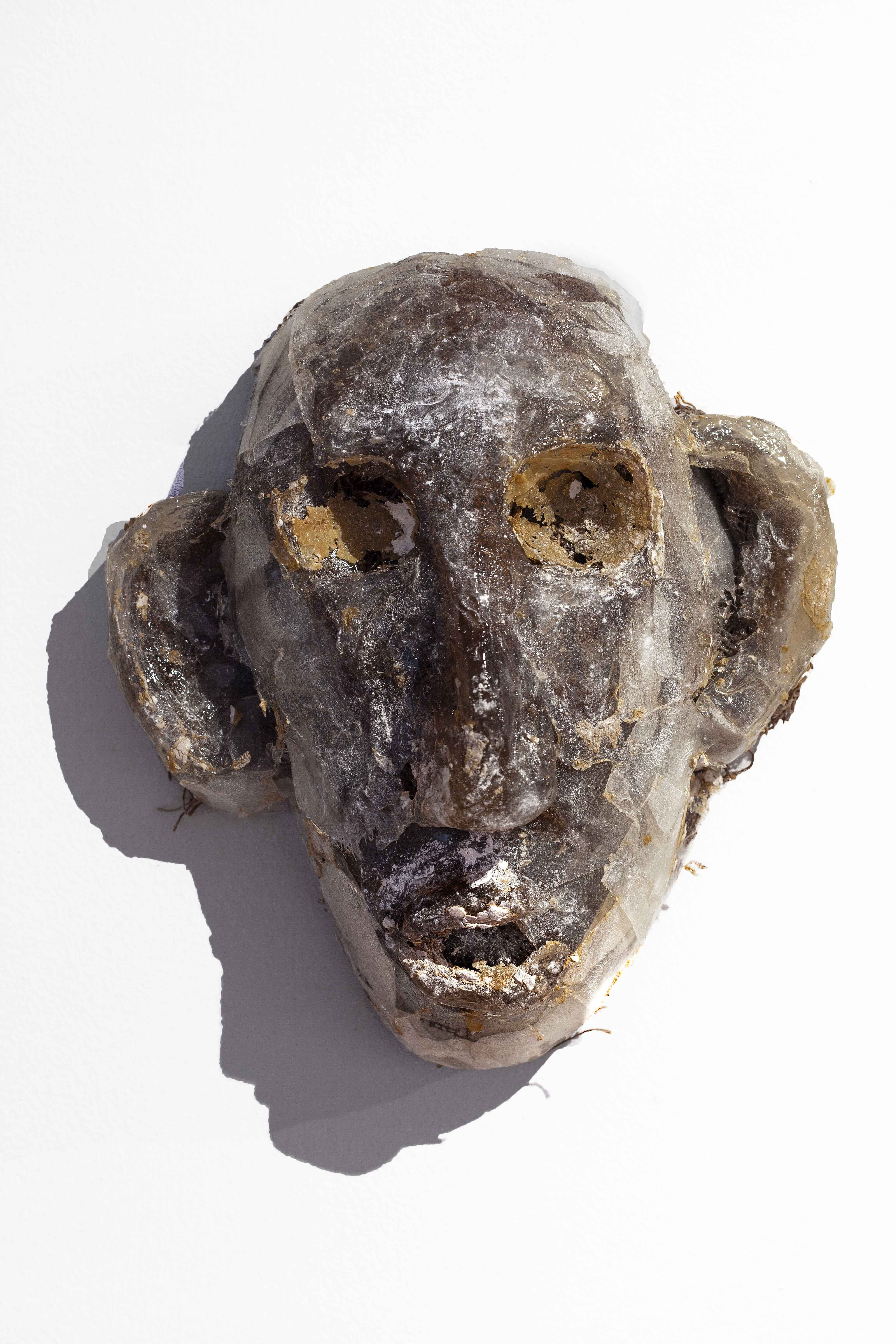 Mask Number 14, 2019, 30x25x11 cm, polye