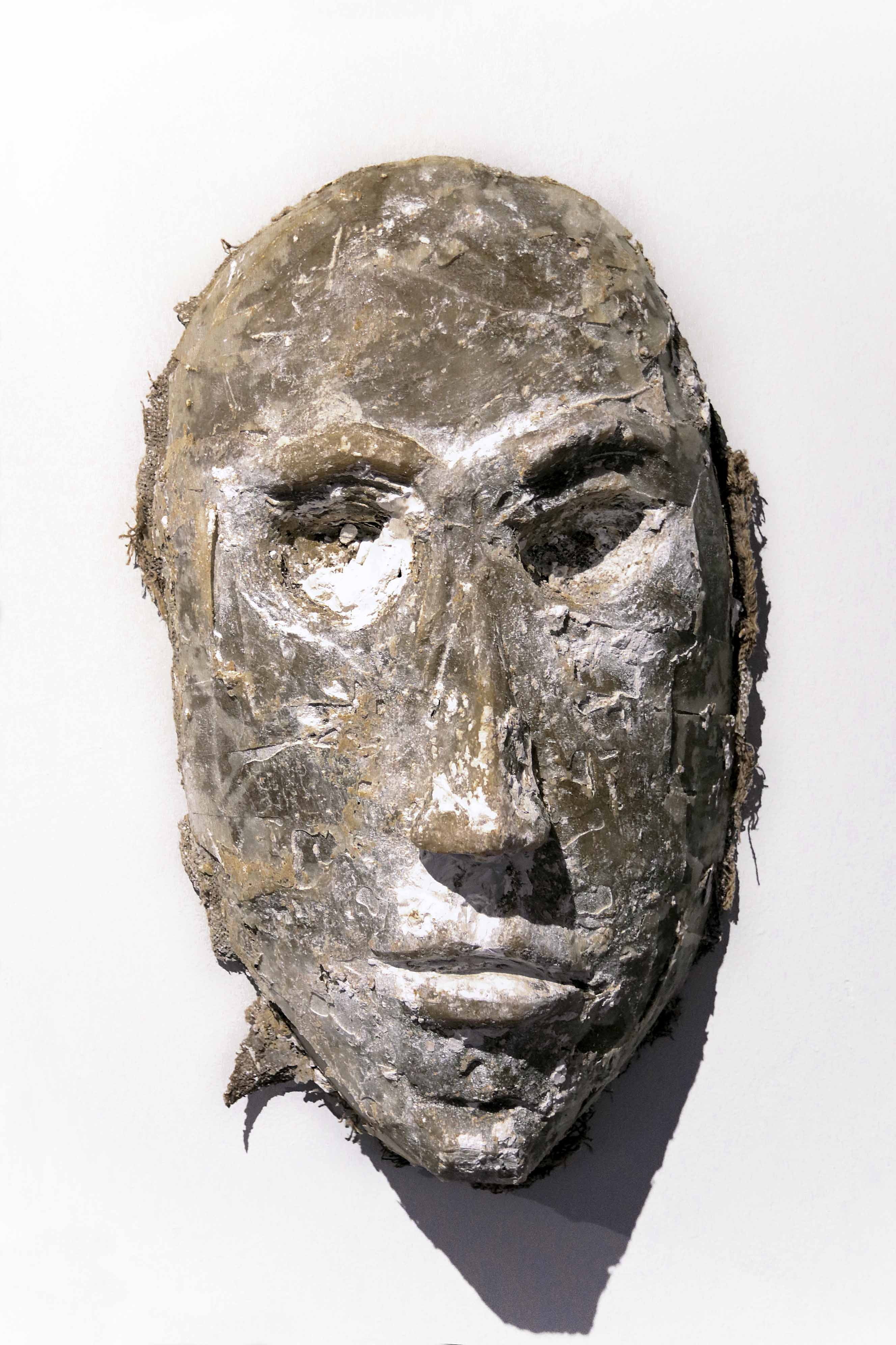 Mask Number 9, 2019, 72x49x23 cm, polyes