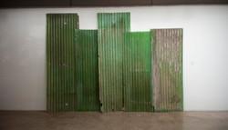 Green wall ,2018 ,8x340x486 cm' ,ready-m