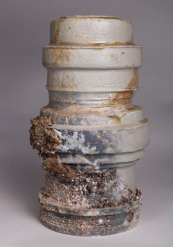Pipe Number 1, 2014, 12x34 cm, wheel thr