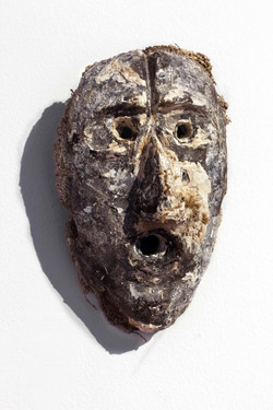Mask Number 7, 2019, 20x13x8 cm, polyest