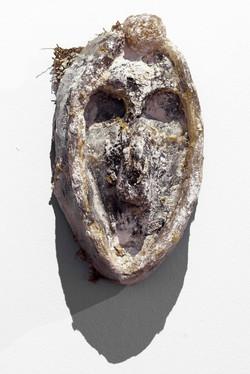 Mask number 11, 2019, 28x20x12 cm, polye