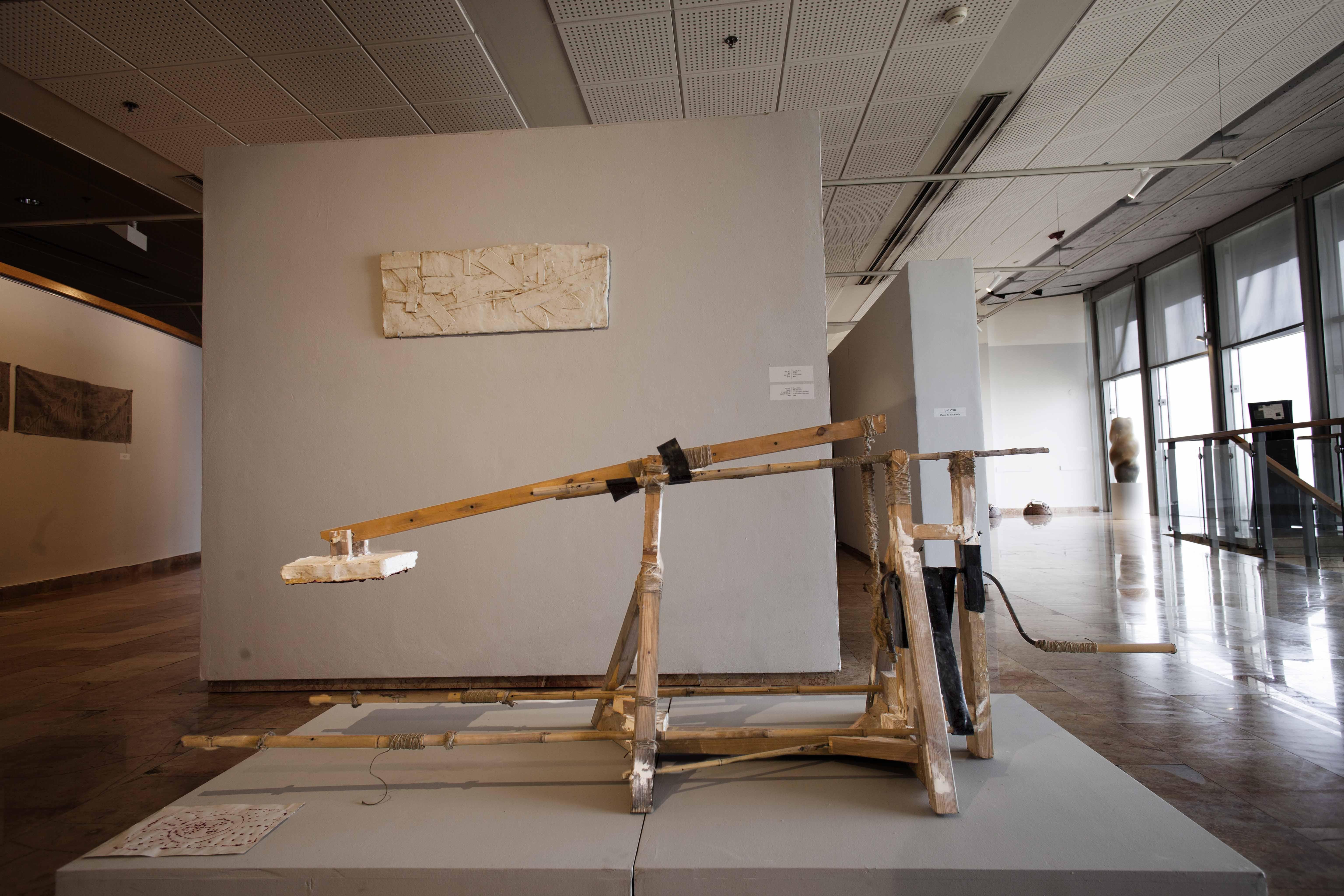 The machine, 2019, 190x80x70, Wood, bamb