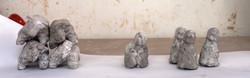 Figurine,2016, concrete Casting