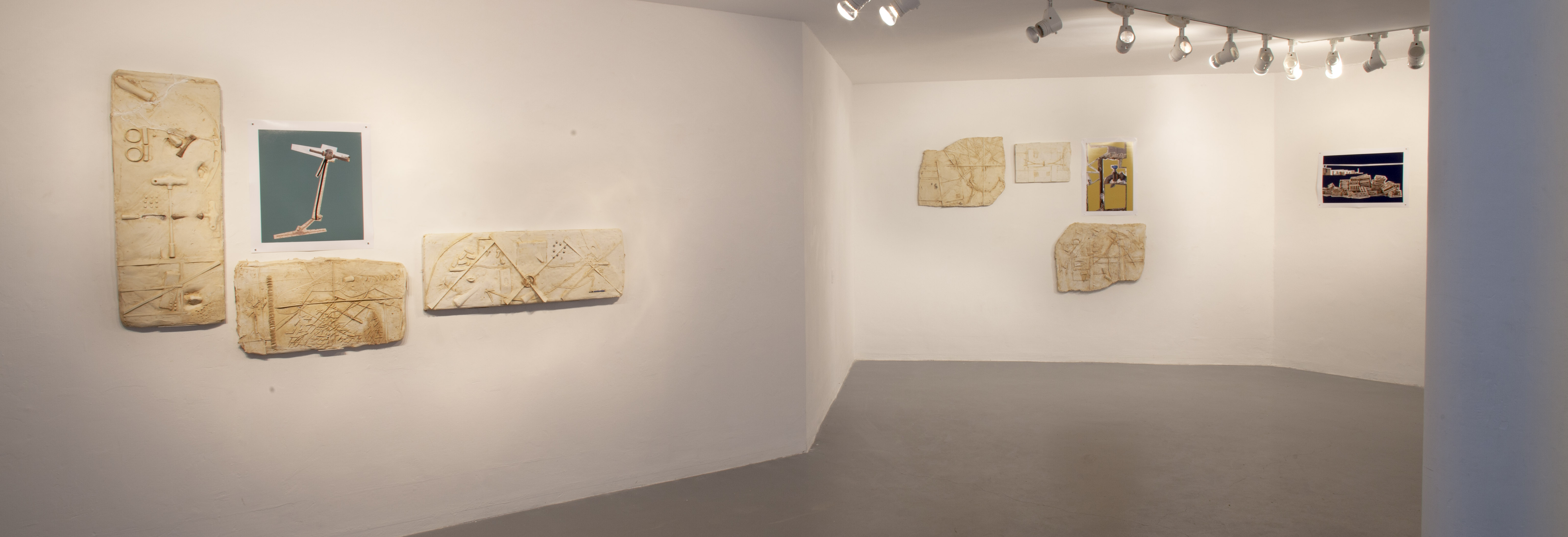 Surfaces, 2015, a view of the exhibition