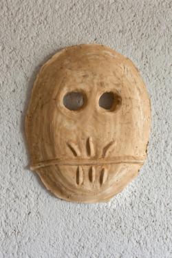 Mask  number 4, 2016, 50x8x42 cm', plast
