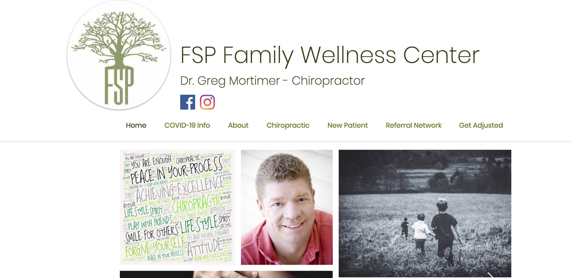 FSP Website Redesign