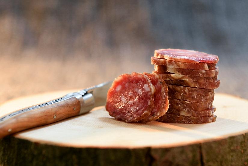 Saucisse sèche nature pur porc