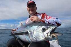 Tuna caught by Jamie of Tackle World