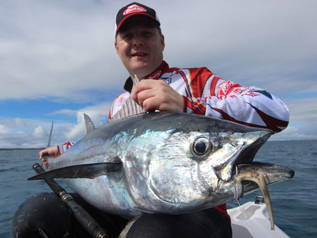 Our own Jamie from Tackle World caught this massive Tuna on the weekend