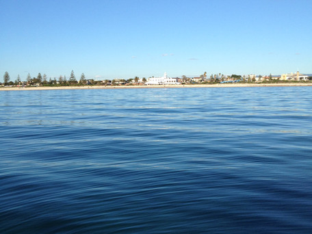 Rowey's Blog - Fishing in 9 feet of water in Semaphore