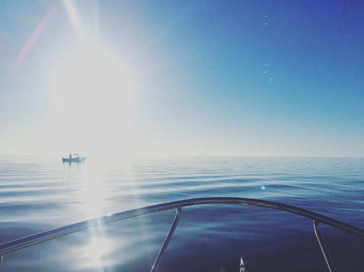 A spectacular photo of Port Clinton