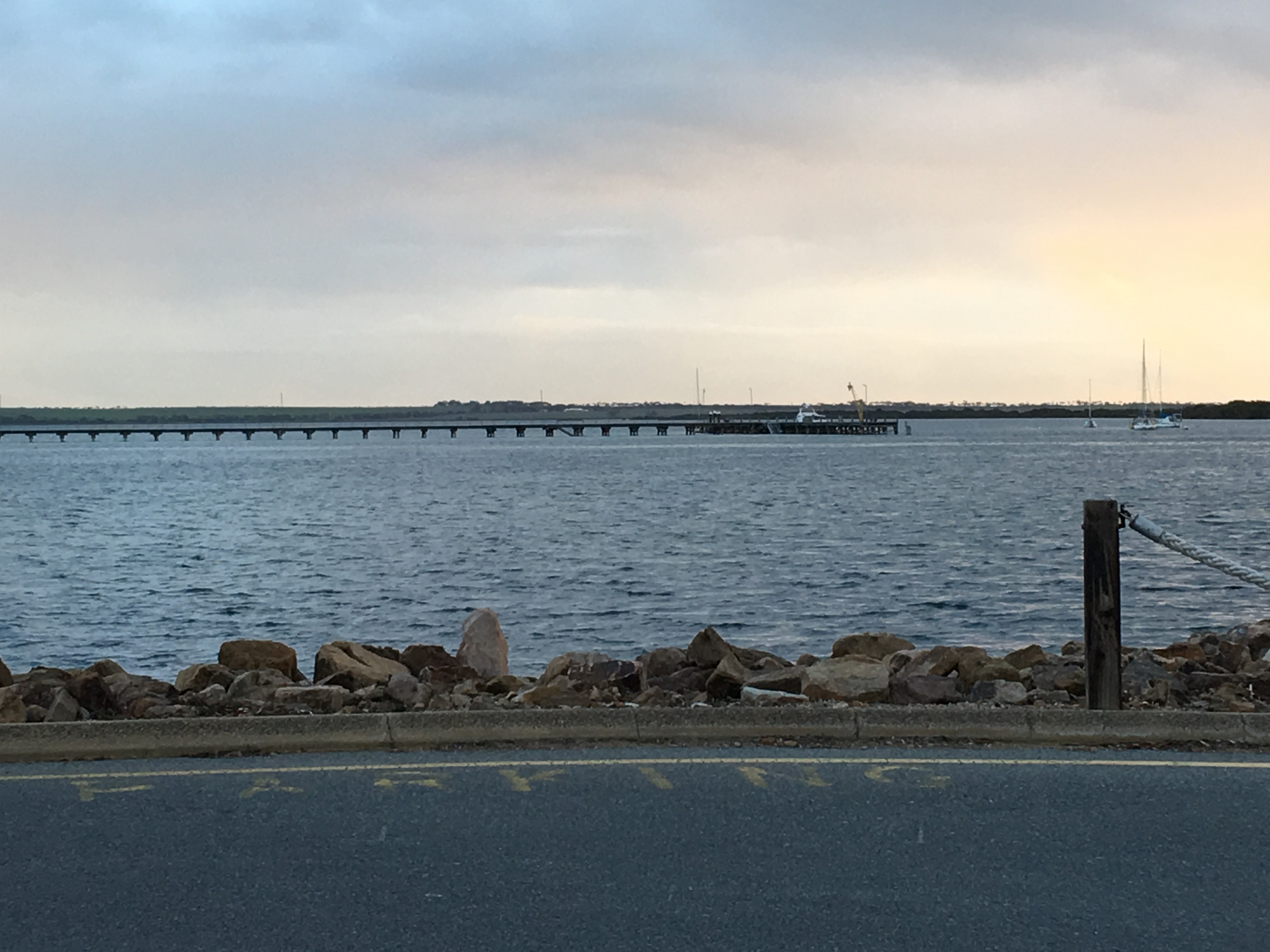 Jetty at Port Broughton at Sunset