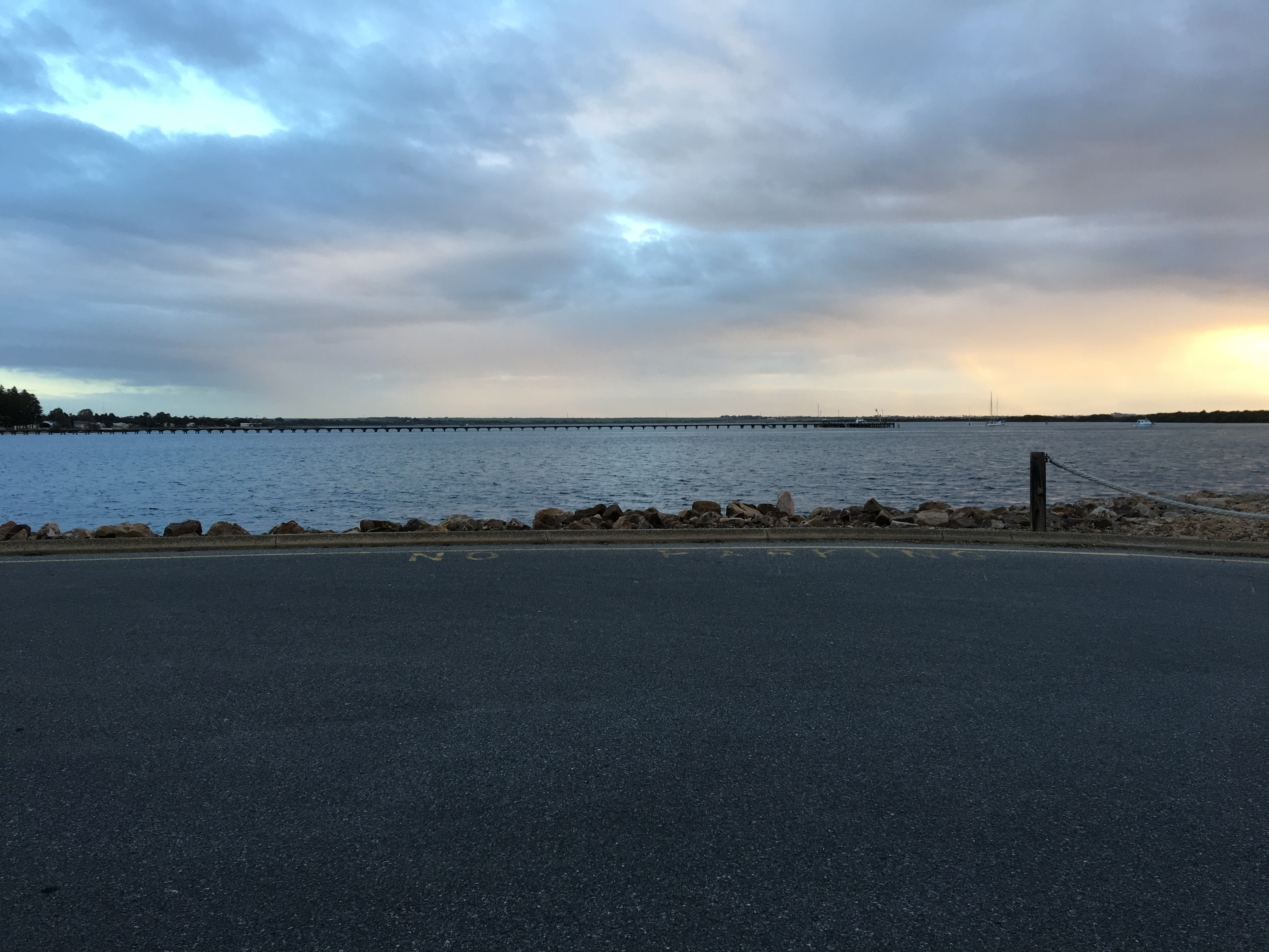 View of the Port Broughton Jetty