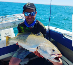 97cm Mulloway caught by Chad Soper