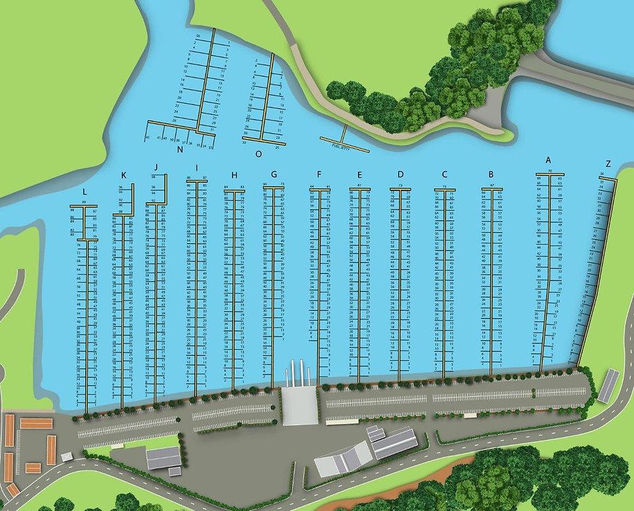 Marina Berth Map - Gulf Harbour Marina.j