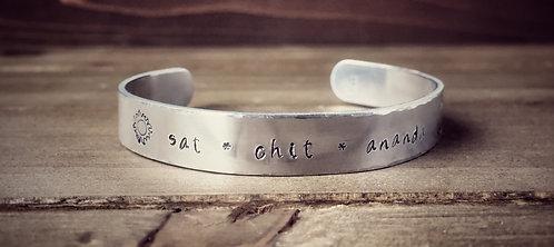 Sanskrit Mantra Cuff Bracelet