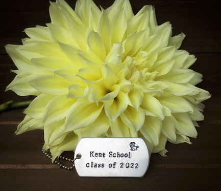 Kent School Keychain