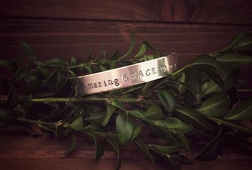 Amazing Grace Cuff Bracelet