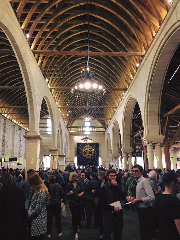 """Salon professionnel des vins """"Renaissance des Appellation"""" à Anger au Grenier Saint-Jean en 2020 - M"""