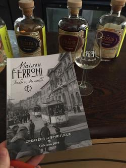 Distillerie Ferroni fondée à Marseille et installé à Aubagne au Château des Creissauds. Dirigé par G