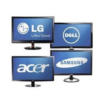 """Affordable Miscellaneous Refurbished 22"""" LCD Monitors"""