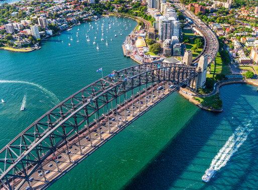 Birds-eye View of Sydney