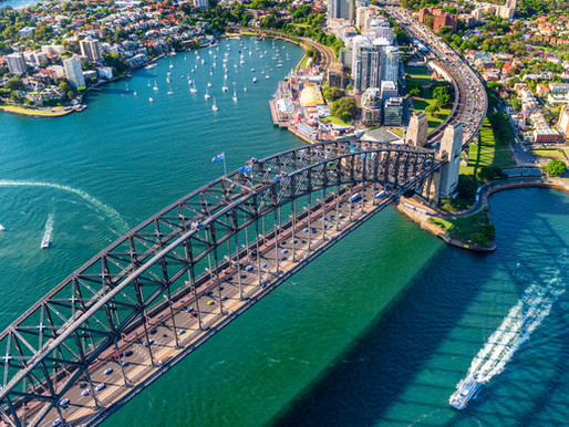 Birds-eye View of Sydney
